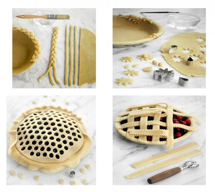 Как украсить пирог своими руками 83