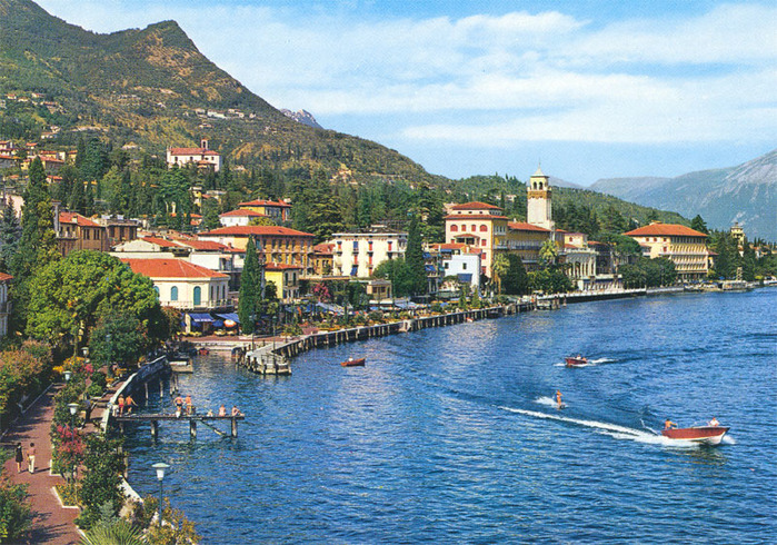 Райские уголки нашей планеты: озеро Гарда.