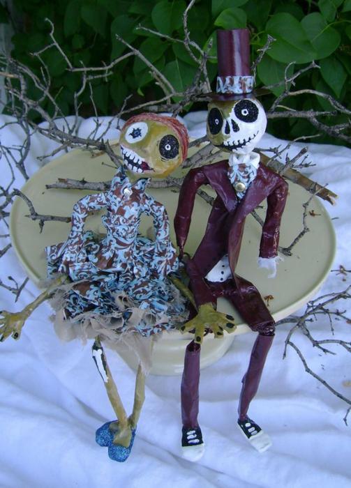 фигурки для свадебного торта фото 9 (503x700, 384Kb)