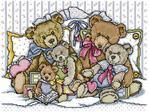 Превью Joan Elliott A Cuddle of Teddies (391x294, 46Kb)