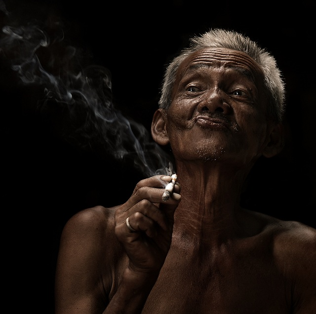 необычные портреты людей фото 15 (640x636, 81Kb)