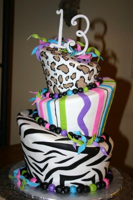 С днем рождения тортики и цветы
