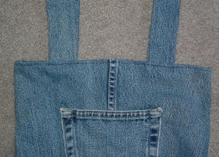 Сумка из джинсов своими руками пошагово с фото