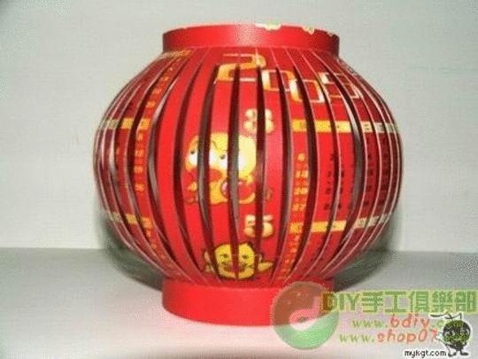 Китайский фонарик из бумаги своими руками