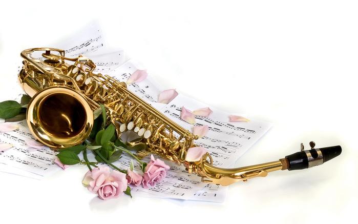 Музыка и цветы картинки 1