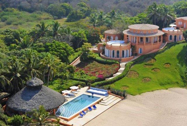 отель в мексике Cuixmala Luxury Resort (640x431, 77Kb)