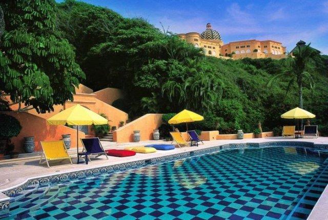 отель в мексике Cuixmala Luxury Resort 2 (640x431, 82Kb)