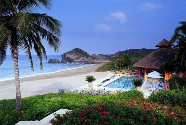 отель в мексике Cuixmala Luxury Resort 4 (640x431, 68Kb)