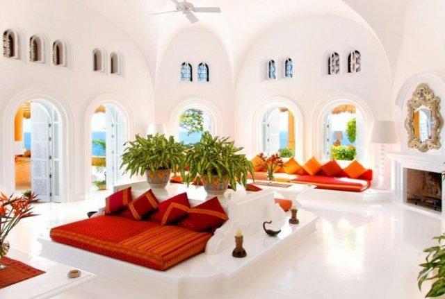 отель в мексике Cuixmala Luxury Resort 10 (640x431, 46Kb)