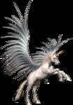 Превью Единороги на прозрачном слое (7) (208x300, 75Kb)