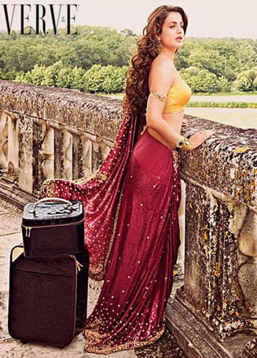 Ameesha Patel Verve Magazine Photos 4 (504x700, 105Kb)