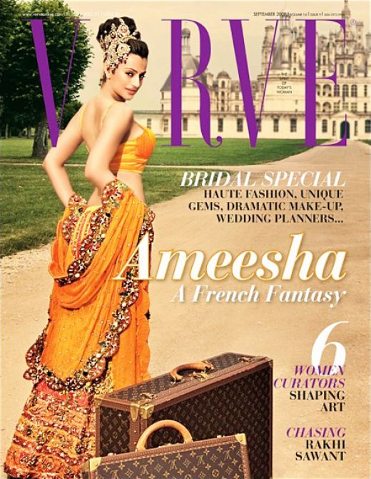 Ameesha Patel Verve Magazine Photos 5 (520x671, 90Kb)