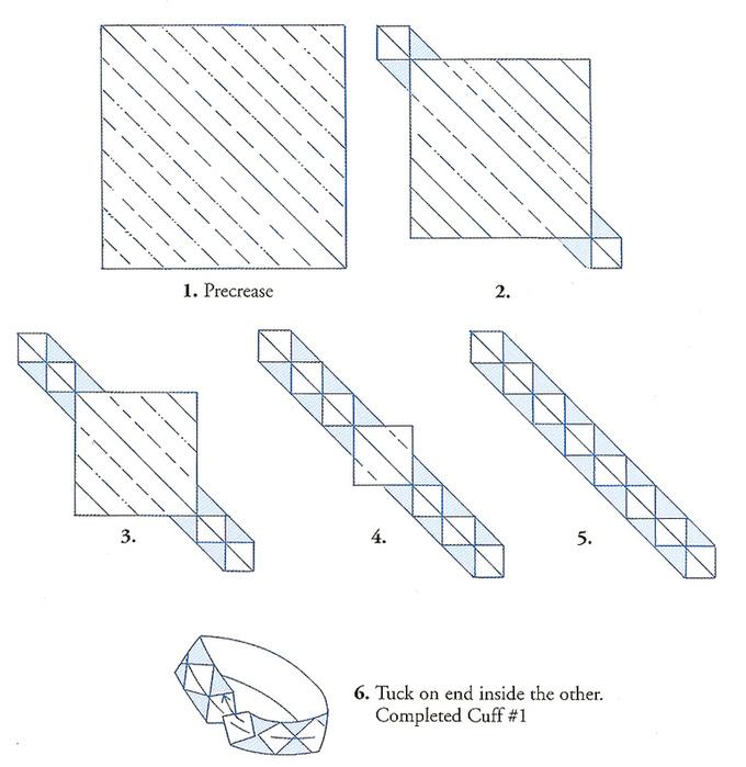 Оригами из бумаги как сделать кольцо
