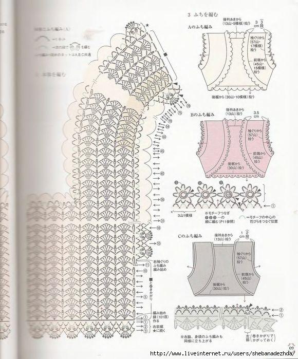 схемка к болеро правая полочка и половина  спинки (580x699, 240Kb)