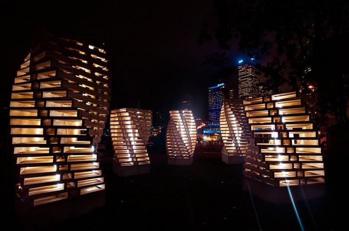 Красочный фестиваль света 2012 в Сиднее 6 (700x464, 72Kb)