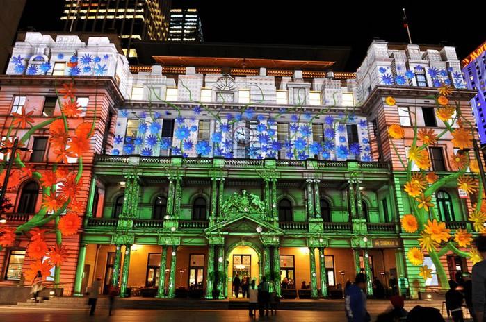Красочный фестиваль света 2012 в Сиднее 19 (700x464, 145Kb)