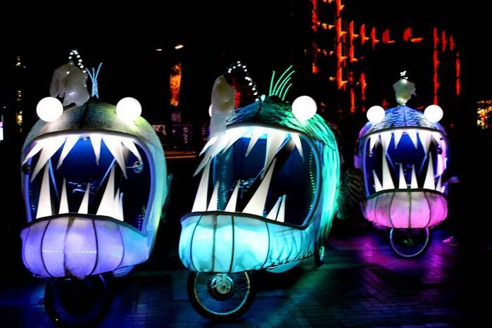 Красочный фестиваль света 2012 в Сиднее 29 (700x466, 79Kb)