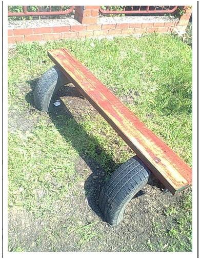 скамейка из покрышек (390x507, 104Kb)
