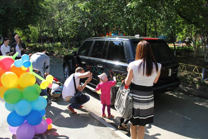 Веселые старты для детей на улице летом 91