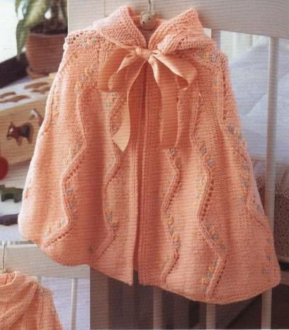 Летняя ажурная детская накидка-плащ с капюшоном ,связана спицами/4683827_20120605_132731 (408x467, 64Kb)