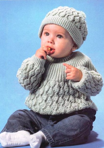 пуловер и шапка (426x607, 58Kb)