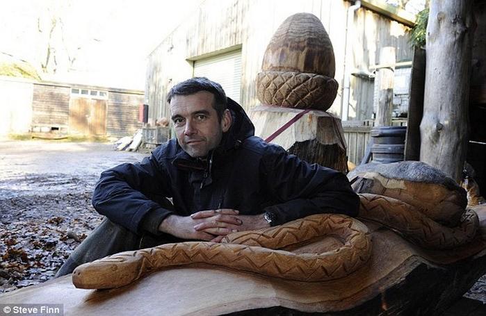 Удивительные скульптуры сделанные бензопилой 16 (700x455, 102Kb)