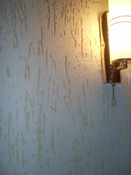 Накаты на стенах фото
