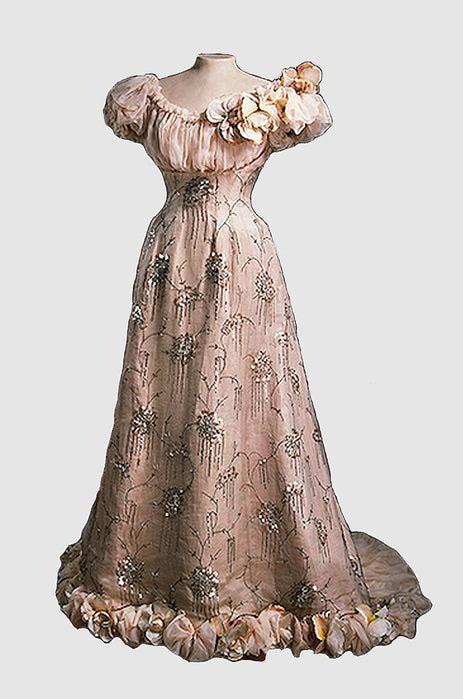 17-19 век платья