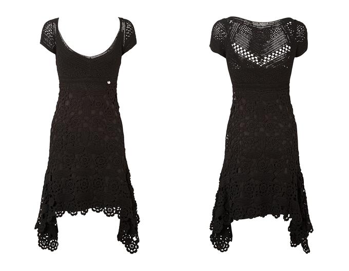 ...платье крючком)))есть и схемы и описание и небольшой мастер класс.