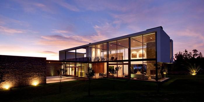 Двухэтажный дом от студии Diez + Muller 1 (700x349, 53Kb)