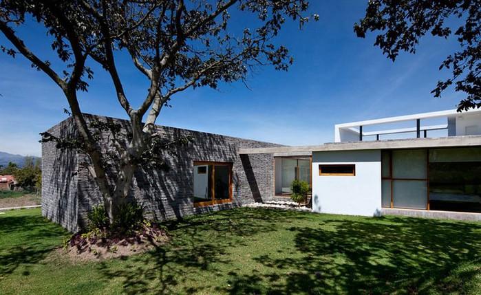 Двухэтажный дом от студии Diez + Muller 15 (700x429, 114Kb)