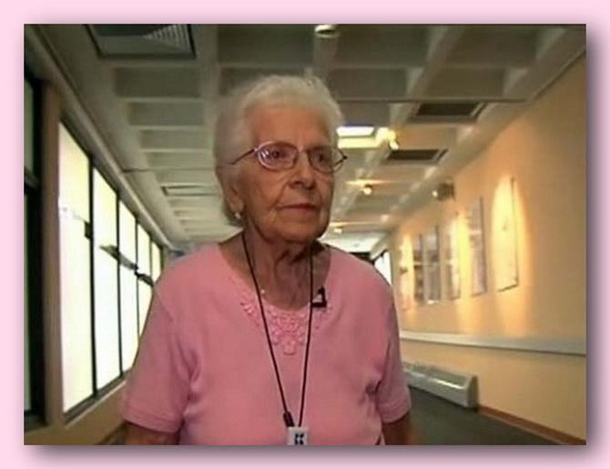 ИПОСТАСЬ ПОЖИЛАЯ ДАМА. Американка Мэри Почин установила своеобразный мировой рекорд, устроившись на работу в 97 лет!