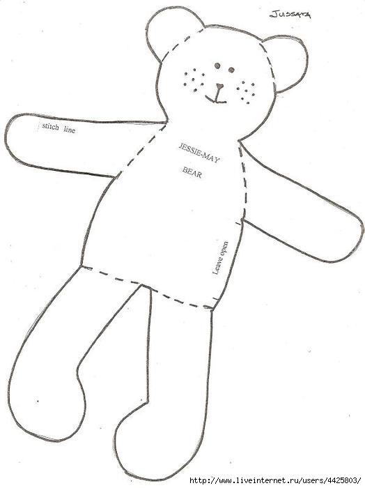 Выкройки куколок своими руками