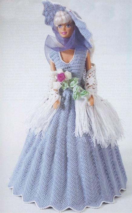 Одежда для кукол барби крючком со схемами фото 186