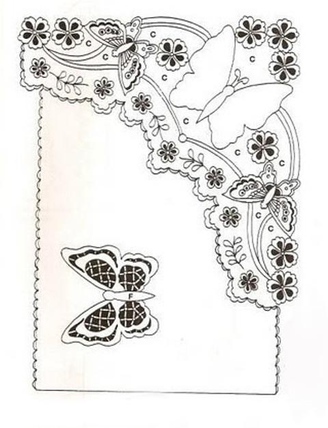 Бабочка вцветах (480x626, 92Kb)