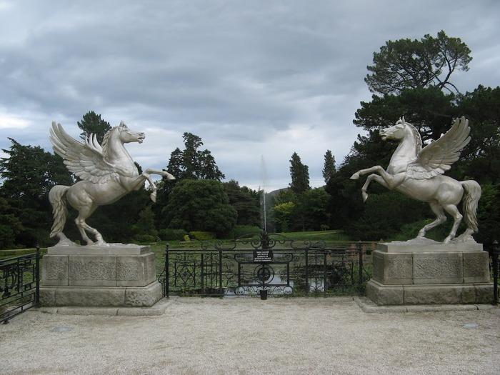 Powerscourt Gardens -Сад Пауэрскоурт . 25771