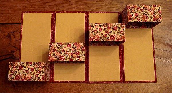 Как украсить коробочку из картона своими руками