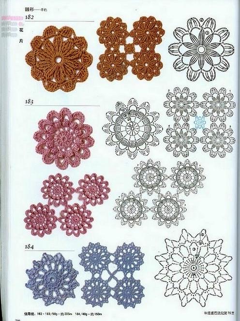 схема цветок9 (496x662, 290Kb)