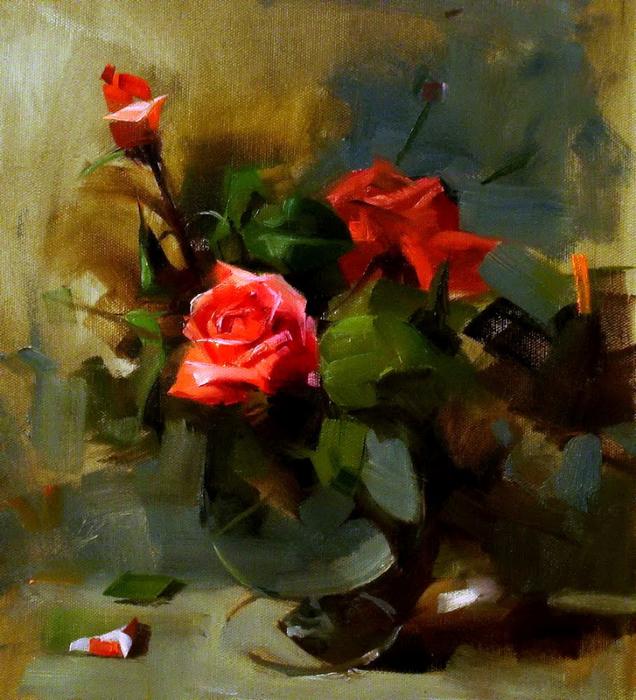 Roses in Spring (636x700, 580Kb)