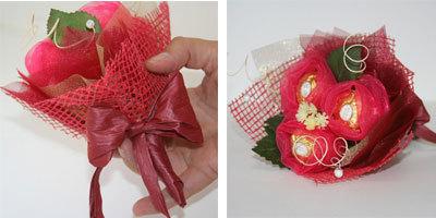 Расскажу по-подробнее, как сделать сладкий букет из конфет . На - 24 May 2013 - Blog - Lexkniga