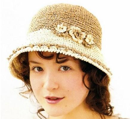 Вязаная крючком шляпа женская/4683827_20120603_142727 (436x399, 52Kb)