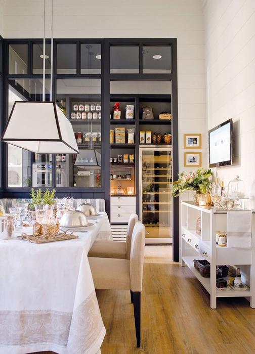 Светлая кухня-столовая 12 (504x700, 351Kb)