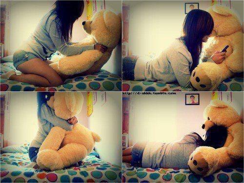 Секс девушка и медведь