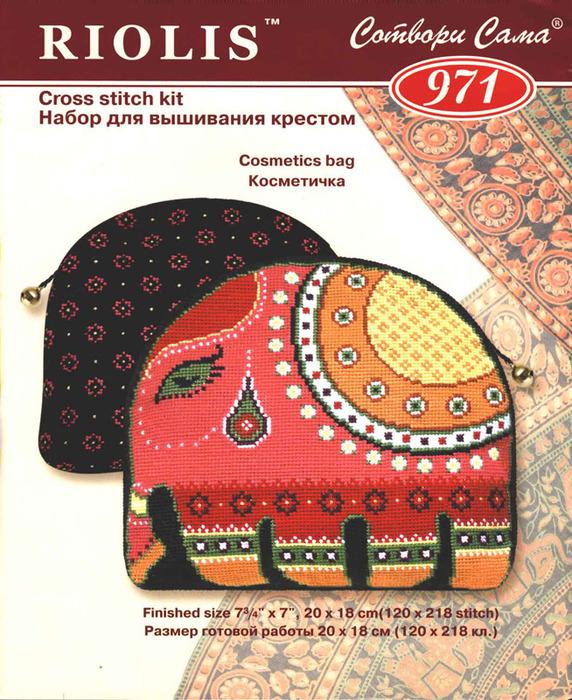Косметичка - индийский слон
