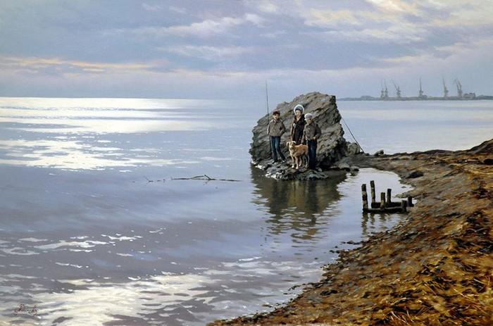 Современный русский живописец Адамов Алексей 5 (700x463, 88Kb)
