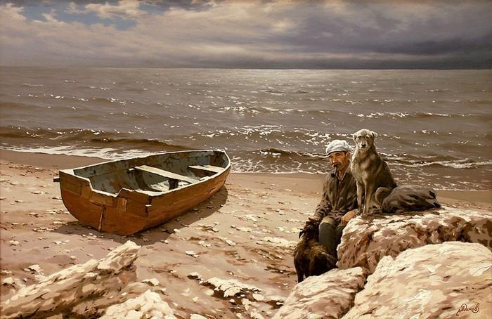 Современный русский живописец Адамов Алексей 9 (700x454, 109Kb)