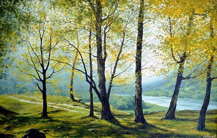 Современный русский живописец Адамов Алексей 18 (700x445, 154Kb)