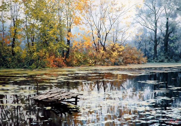 Современный русский живописец Адамов Алексей 21 (700x488, 157Kb)