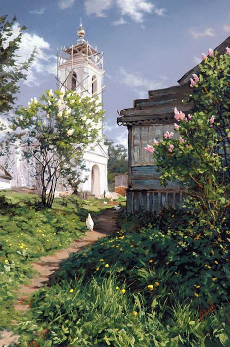 Современный русский живописец Адамов Алексей 35 (463x700, 434Kb)