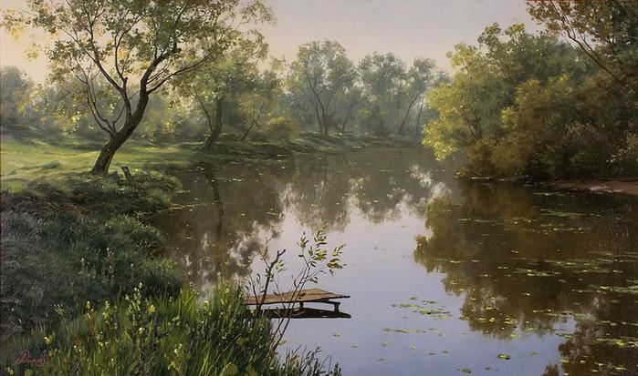 Современный русский живописец Адамов Алексей 37 (700x413, 105Kb)
